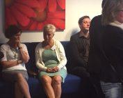 bijeenkomst met acteur undercover netwerkbijeenkomst
