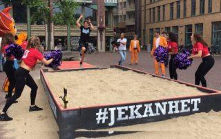 Gemeente Amsterdam gebruikt Acteurs voor promotie EK atletiek