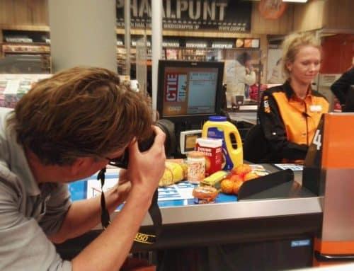 Acteren in de supermarkt – visuals voor e-learning-opleiding kassamedewerkers