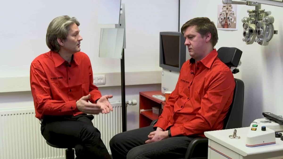 Huureenacteur voor E-learning Hans Anders