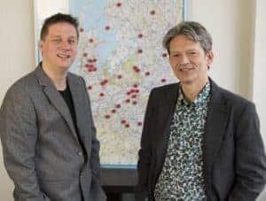 Jochanan en Bert van HuureenActeur