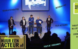 bedrijfstheater HuureenActeur meerdere acteurs